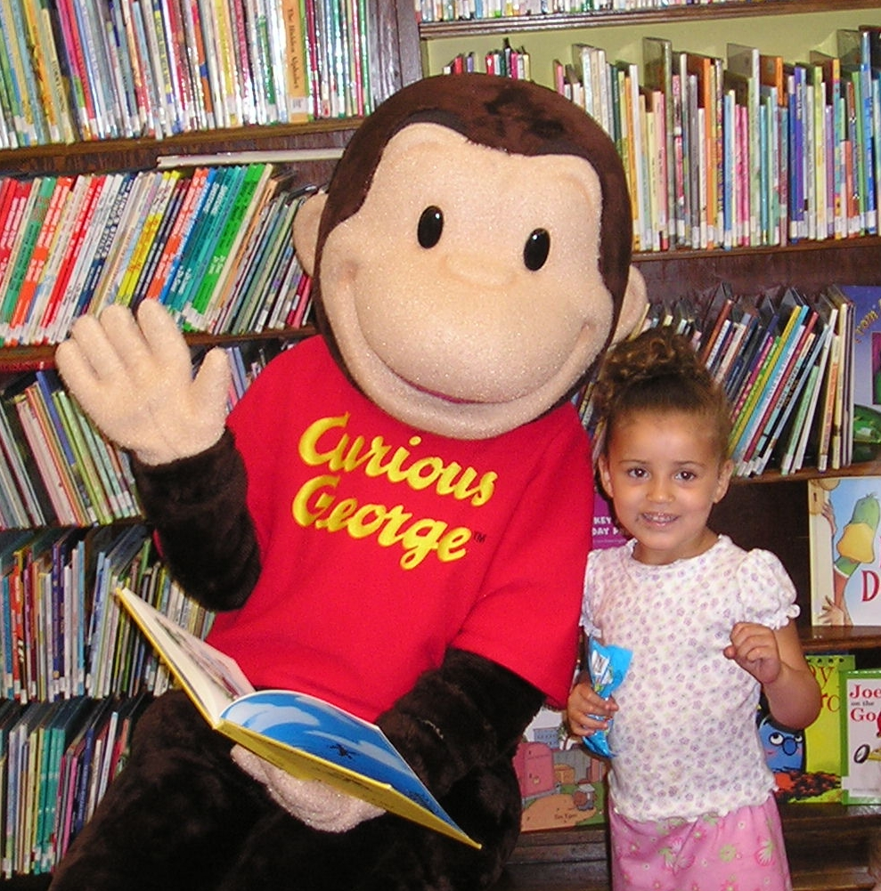 Curious George Reading