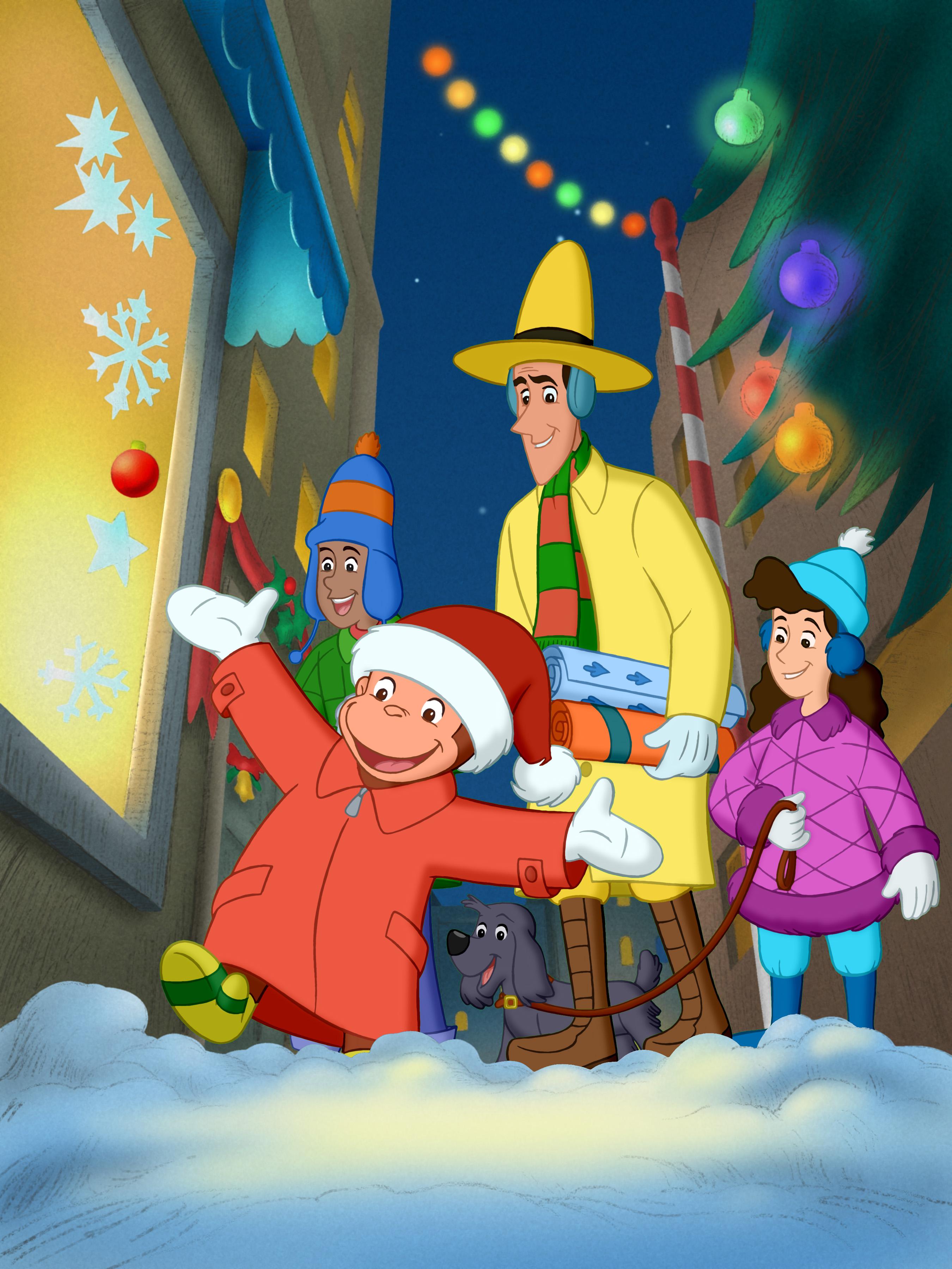 Curious George A Very Monkey Christmas - 2