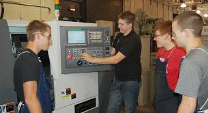 CNC machine operation